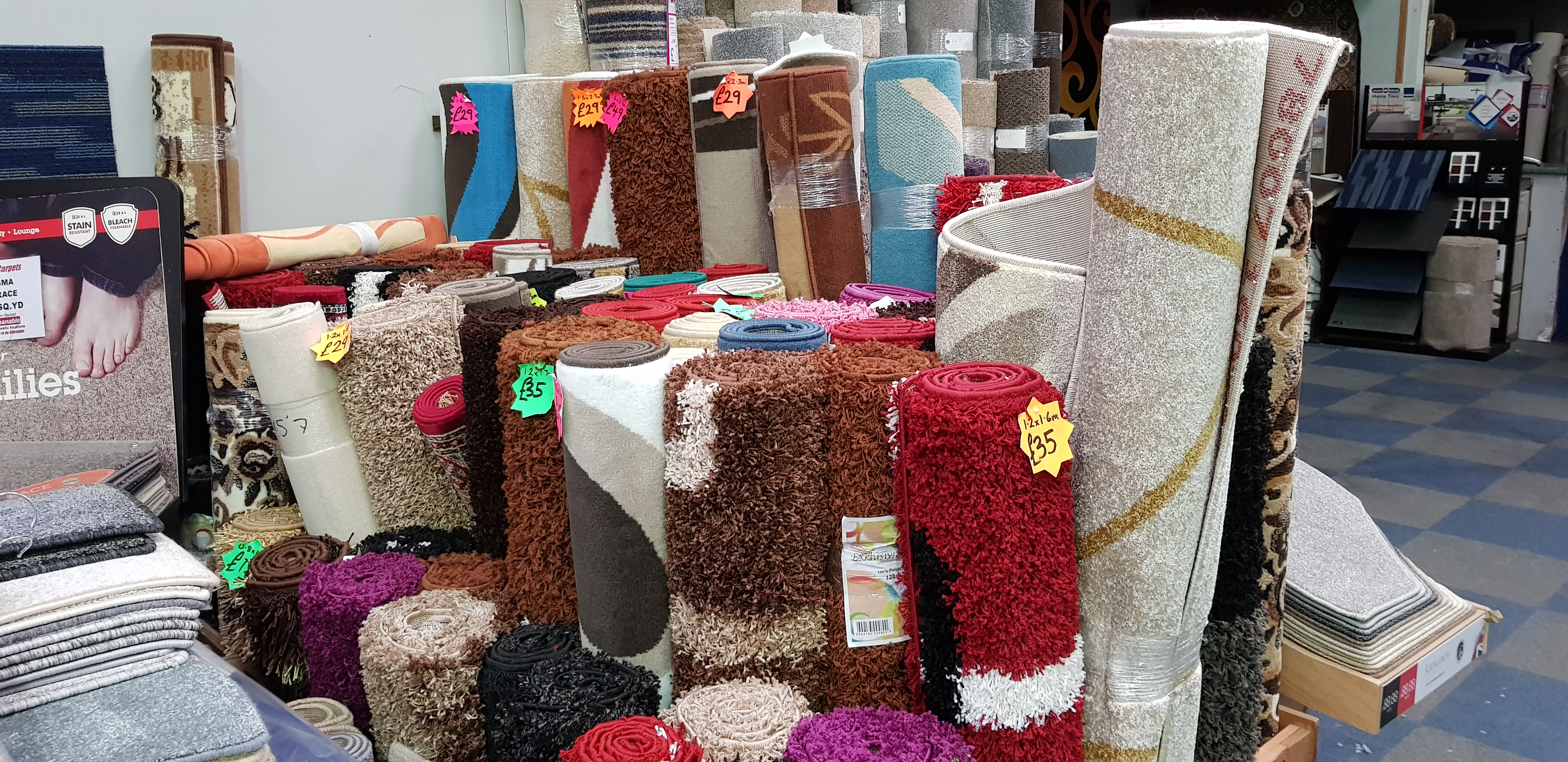 At Affordable Carpets, our main aim is to supply the flooring you want for your home or business. With two large stores based in Dagenham and Grays, ...